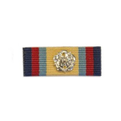 32mm Gulf Medal 1990-1991 Medal Ribbon Slider with Rosette
