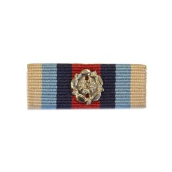 32mm Operational Service Medal Afghanistan Medal Ribbon Slider with Rosette