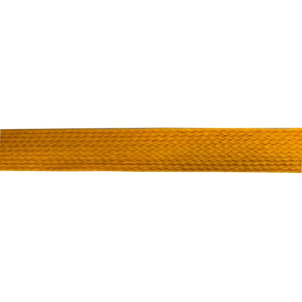 25mm – Indian Yellow – Worsted – Flat Braid
