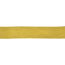 25mm Gold Mustard Worsted Flat Braid