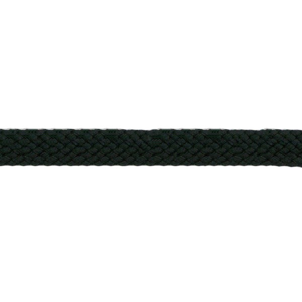 8mm – Black – Cotton – Tubular Braid