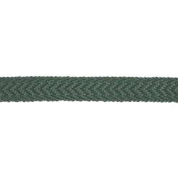 13mm Dark Green Cotton Chevron Lace