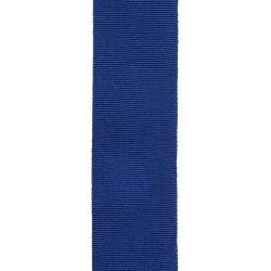 32mm – PDSA Gold Medal Ribbon - Navy Blue