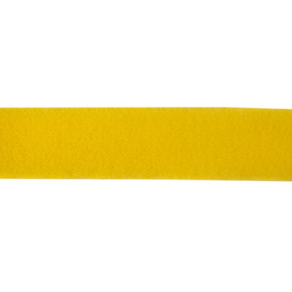 38mm Yellow Polyester Tac-Flex Velcro - Loop