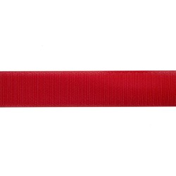 38mm Red Polyester Tac-Flex Velcro - Hook