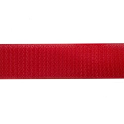 50mm Red Polyester Tac-Flex Velcro - Hook
