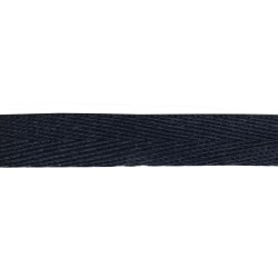 38mm – Blue Navy - Meta Aramid Kermel Flame Retardant Herringbone Webbing