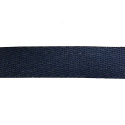 25mm Blue Navy - Meta Aramid Kermel Flame Retardant Herringbone Webbing