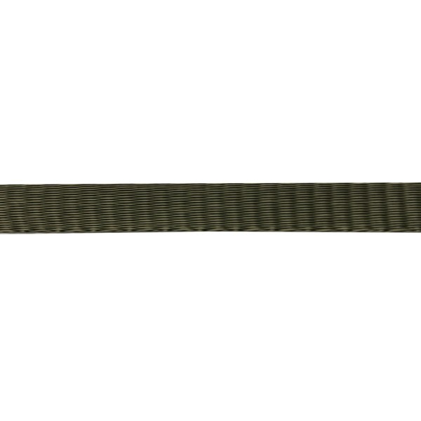 19mm – Army Green – Polypropylene – Self Binding Plain Weave - Webbing