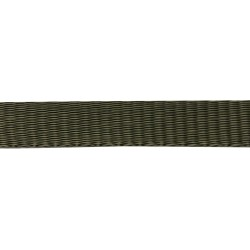 25mm – Army Green – Polypropylene – Self Binding Plain Weave - Webbing