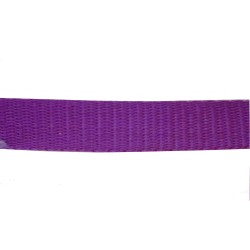 25mm – Maroon/ Wine – Polypropylene – Double Plain Weave - Webbing