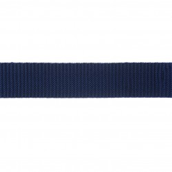 25mm – Dark Navy – Polypropylene – Double Plain Weave - Webbing