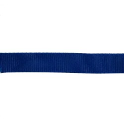 25mm – Royal Blue – Polypropylene – Double Plain Weave - Webbing