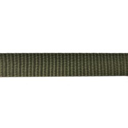38mm – Olive Green - Polyproylene - Double Plain Weave - Webbing