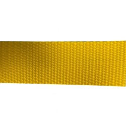 38mm – Yellow - Polyproylene - Double Plain Weave - Webbing
