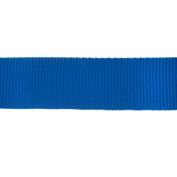 38mm – Royal Blue - Polyproylene - Double Plain Weave - Webbing