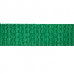 38mm – Emerald Green - Polyproylene - Double Plain Weave - Webbing