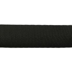50mm – Black Chevron Polypropylene Webbing
