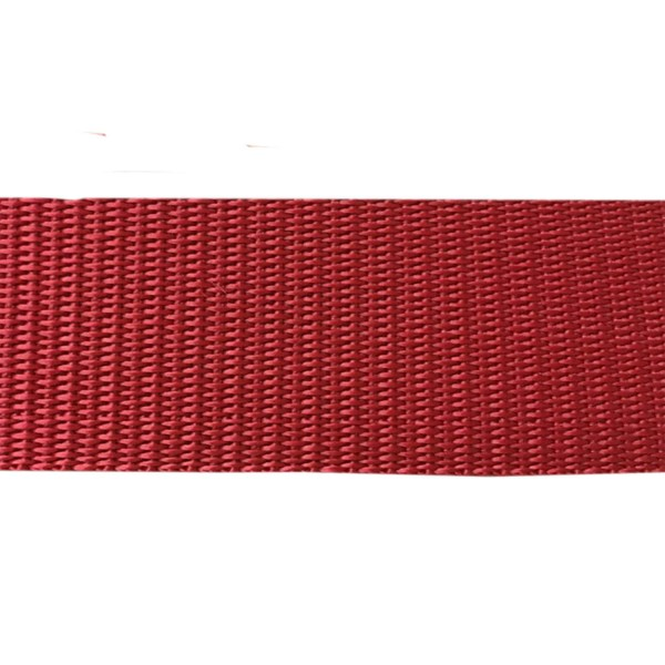 50mm – Maroon – Polypropylene – Double Plain Weave - Webbing