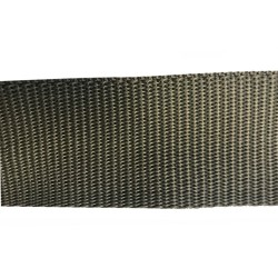 50mm – Olive Green – Polypropylene – Double Plain Weave - Webbing