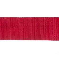 50mm – Red – Polypropylene – Double Plain Weave - Webbing