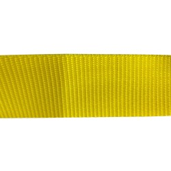 50mm – Yellow – Polypropylene – Double Plain Weave - Webbing
